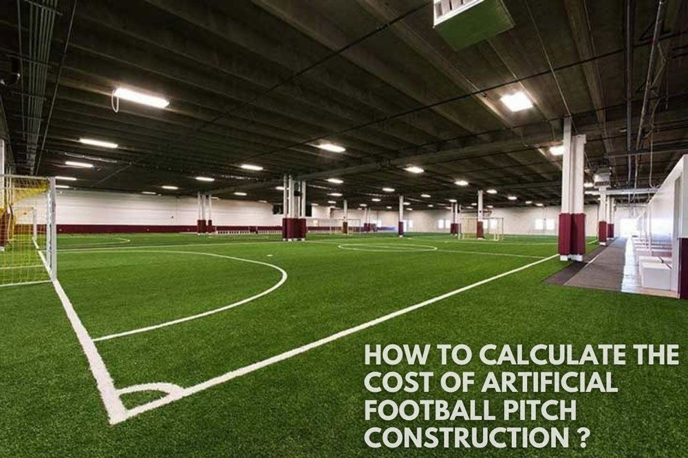 how to calculate the cost of artificial football pitch construction