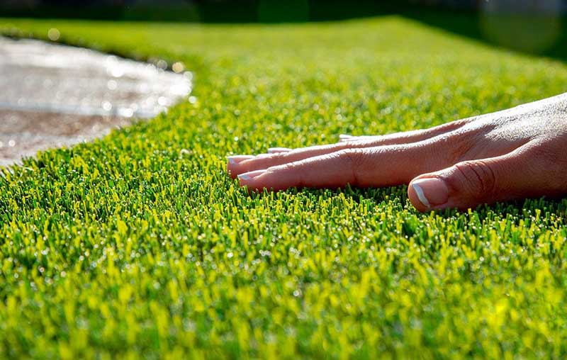synthetic grass cleaning