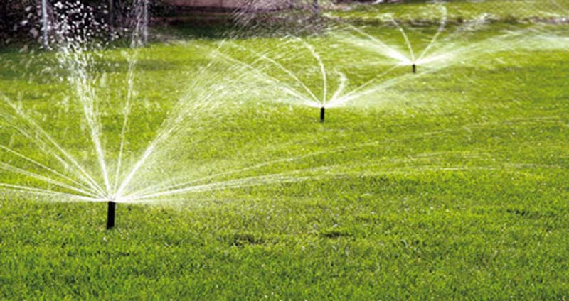 no neet to irrigation for artificial turf